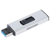 Флешка Uniscend Alum, серебристая, 32 Гб
